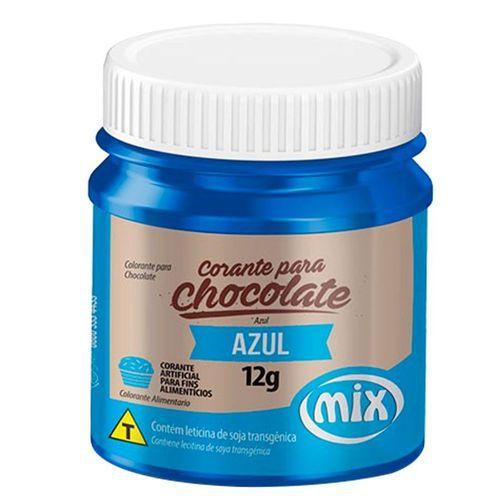 CORANTE P/ CHOCOLATE 12G AZUL MIX