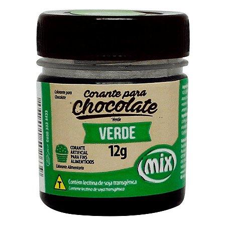 CORANTE P/ CHOCOLATE 12G VERDE MIX