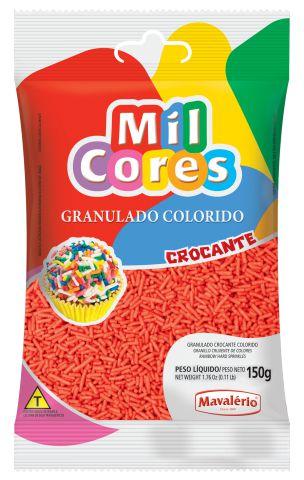 GRANULADO CROCANTE VERMELHO MIL CORES 150G MAVALERIO
