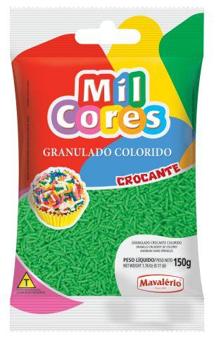 GRANULADO CROCANTE VERDE MIL CORES 150G MAVALERIO