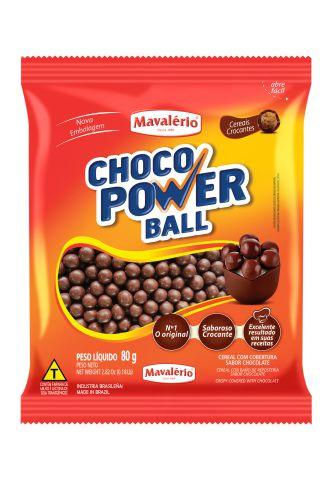 CHOCO POWER BALL 80G MAVALÉRIO