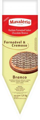 RECHEIO FORNEAVEL CHOC.BRANCO 1,01KG MAVALÉRIO