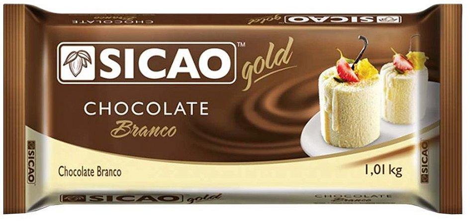 CHOCOLATE SICAO GOLD BRANCO 1,01KG BRANCO