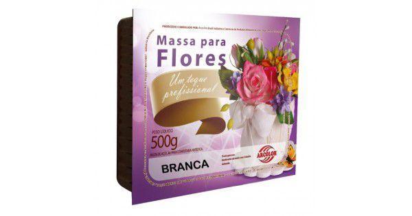 MASSA PARA FLORES 500G ARCOLOR