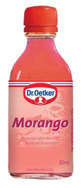 AROMA DE MORANGO 30ML  DR.OETKER