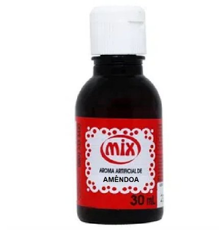 AROMA ARTIFICIAL DE AMÊNDOA 30ML MIX