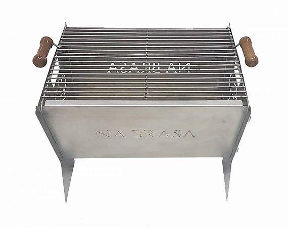 Churrasqueira Inox Fast BBQ - Na Brasa