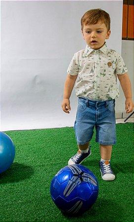 Conjunto Masculino Jeans e Camisa Lorenzo Pump