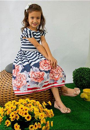 Vestido Infantil Beatriz Pump