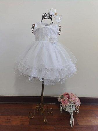 Vestido Infantil Bianca Pump