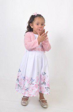 Vestido Infantil Lorena Pump