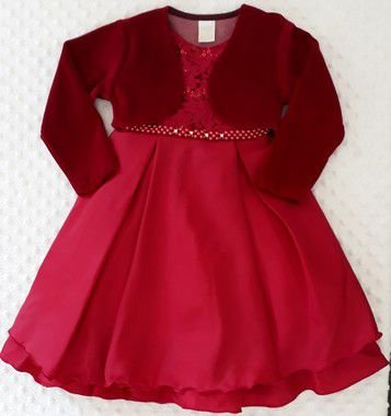 Vestido Infantil Rubia Pump