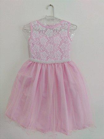 Vestido Infantil Sophia Pump