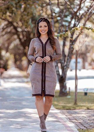 Vestido em Escuba - Luciana Pais