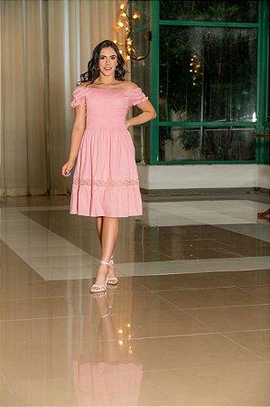 Vestido em Tricoline - Luciana Pais