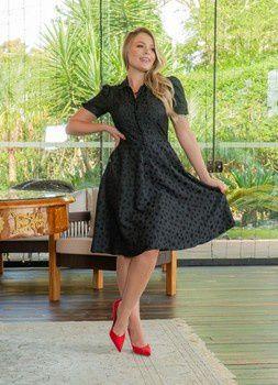 Vestido Lady Like em  - Viscose