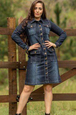 Vestido Jeans - Raje