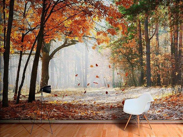 Papel de Parede Fotográfico - Outono no parque  - PA084