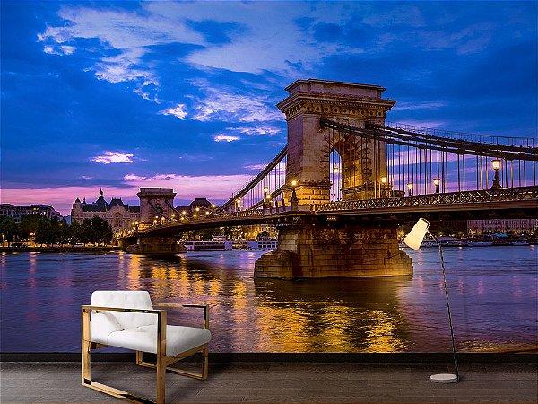 Papel de Parede Fotográfico Ponte rio Danúbio - PA129