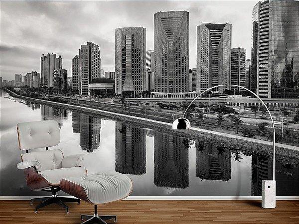 Papel de Parede Fotográfico - Skyline de São Paulo- PA124