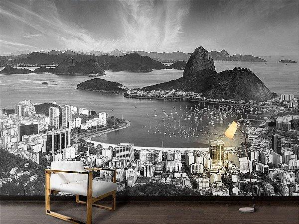 Papel de Parede Fotográfico - Skyline de Rio de janeiro- PA125