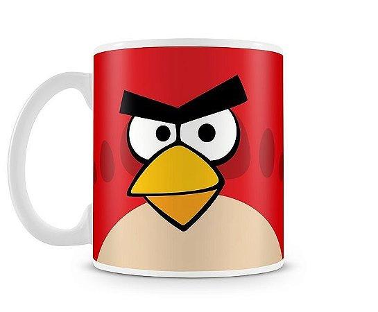 Caneca Angry Birds - Porcelana Branca