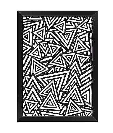 Quadro - Abstrato Triangular