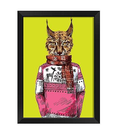 Quadro  - Gato Hispter