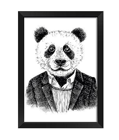 Quadro - Panda Estiloso