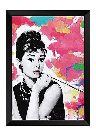 Quadro - Audrey Hepburn Colors