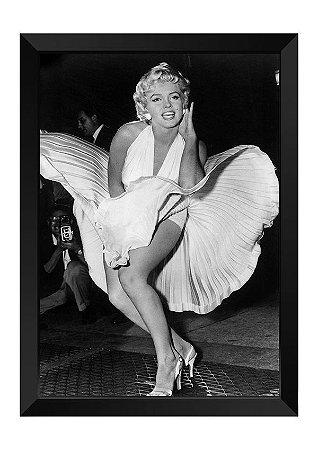 Quadro - Marilyn Monroe Clássico P&B