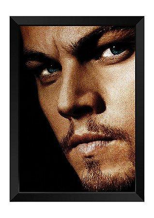 Quadro - Face Leonardo DiCaprio