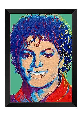 Quadro - Michael Jackson Colors