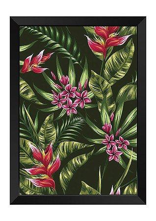 Quadro - Floral Tropical