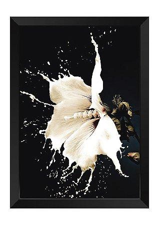 Quadro - Floral Splash White