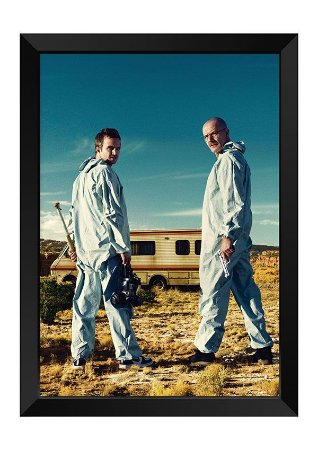 Quadro - Walter White e Jesse Pinkman