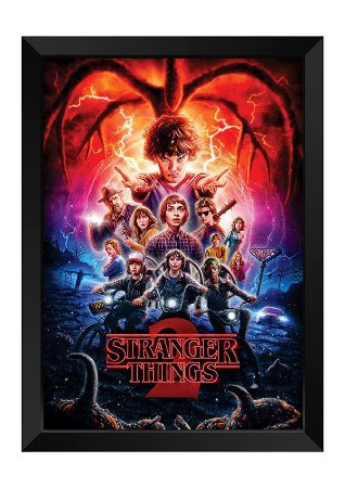 Quadro - Stranger Things - 2 Temporada