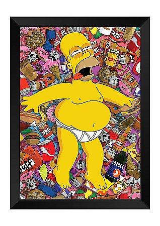 Quadro - Os Simpsons - Homer