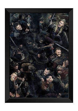 Quadro - Vikings Batalha