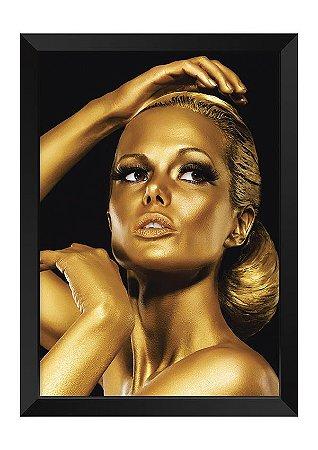 Quadro - Makeup Gold