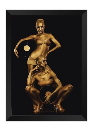 Quadro - Makeup Gold Dual Disco
