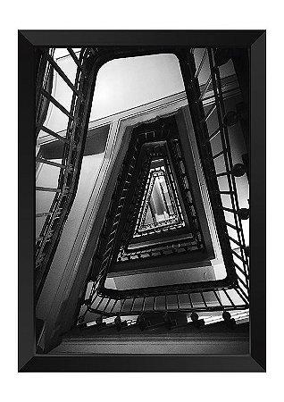 Quadro - Escadaria P&B