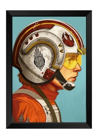 Quadro - Star Wars Luke Skywalker