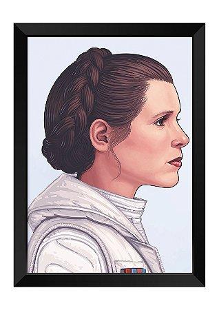 Quadro - Star Wars Leia Organa