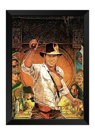 Quadro - Indiana Jones Poster