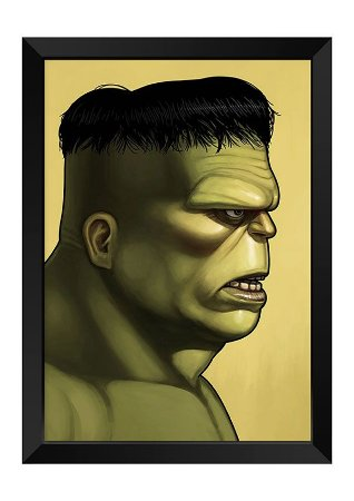 Quadro - Hulk Poster