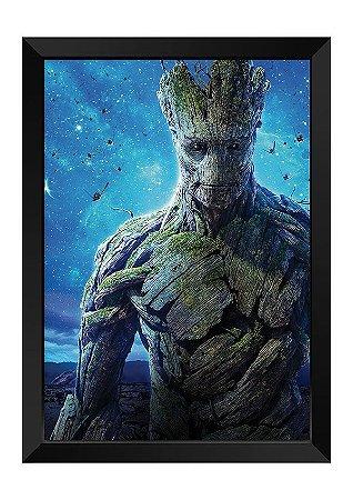 Quadro - Groot Guardiões da Galáxia