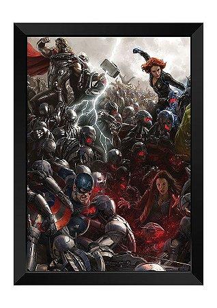 Quadro - Heróis Marvel