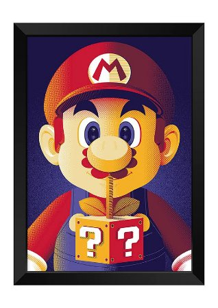 Quadro - Super Mario Bros