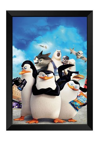Quadro - Pinguins de Madagascar